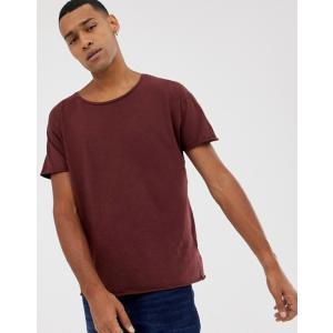 ヌーディージーンズ メンズ Tシャツ トップス Nudie Jeans Co Roger slub t-shirt in plum|revida