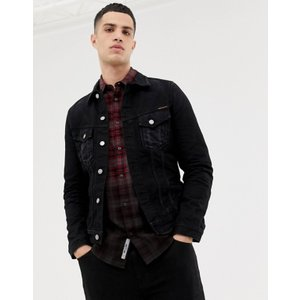 ヌーディージーンズ メンズ ジャケット・ブルゾン アウター Nudie Jeans Co Billy denim jacket washed black|revida