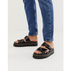 ドクターマーチン メンズ サンダル シューズ Dr Martens Ryker sandals in black|revida