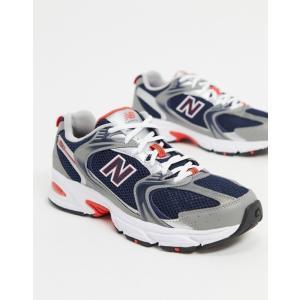 ニューバランス メンズ スニーカー シューズ New Balance 530 sneakers in...