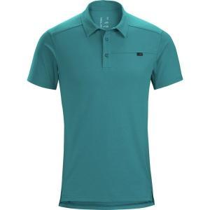 アークテリクス メンズ ポロシャツ トップス Captive Short-Sleeve Polo Shirt|revida