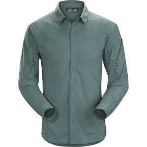 アークテリクス メンズ シャツ トップス Elaho Long-Sleeve Button-Down Shirt|revida