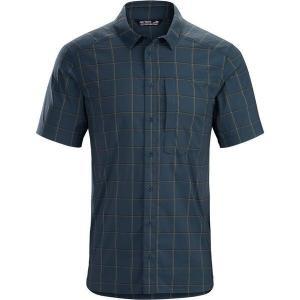 アークテリクス メンズ シャツ トップス Riel Short-Sleeve Button-Down Shirt|revida