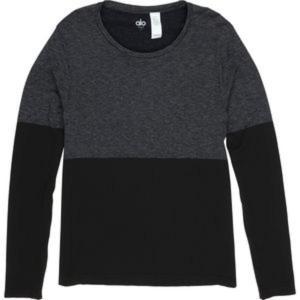 アローヨガ メンズ シャツ トップス Energy Long-Sleeve Crew Shirt|revida