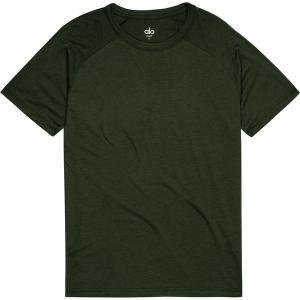 アローヨガ メンズ シャツ トップス Triumph Crew Neck T-Shirt|revida