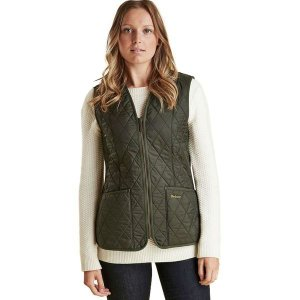 バーブァー レディース ベスト トップス Fleece Betty Liner Vest|revida