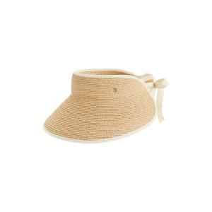 ヘレンカミンスキー レディース 帽子 アクセサリー Helen Kaminski 'Mita' Packable Raffia Visor|revida