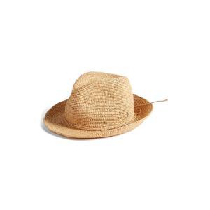 ヘレンカミンスキー レディース 帽子 アクセサリー Helen Kaminski Raffia Crochet Packable Sun Hat|revida