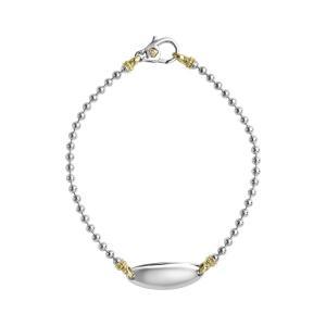 6f906dbd0 ラゴス レディース ブレスレット・バングル・アンクレット アクセサリー LAGOS Beloved Oval Plate Bracelet