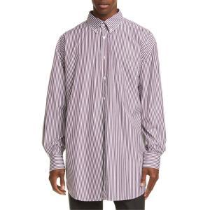マルタンマルジェラ メンズ シャツ トップス Maison Margiela Classic Stripe Button-Down Shirt|revida