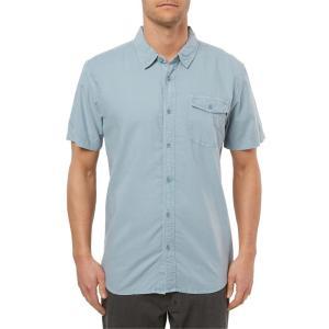 オニール メンズ シャツ トップス O'Neill Steaddy Short Sleeve Button-Up Shirt|revida