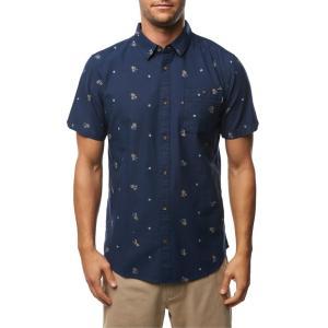 オニール メンズ シャツ トップス O'Neill Frequency Print Shirt|revida