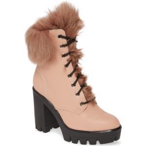 ジュゼッペザノッティ レディース ブーツ・レインブーツ シューズ Giuseppe Zanotti Genuine Shearling Platform Boot (Women) revida