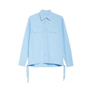 マルニ メンズ シャツ トップス Marni Workwear Shirt (Nordstrom Exclusive)|revida