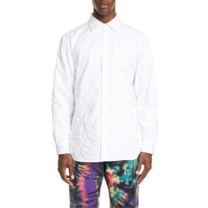ドリス・ヴァン・ノッテン メンズ シャツ トップス Dries Van Noten Quilted Button-Up Shirt|revida