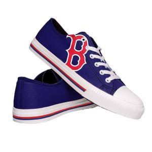 フォーエバーコレクティブルズ メンズ スニーカー シューズ FOCO Boston Red Sox Canvas Shoes revida