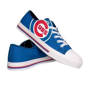 フォーエバーコレクティブルズ メンズ スニーカー シューズ FOCO Chicago Cubs Canvas Shoes revida