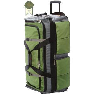 アサロン メンズ スーツケース バッグ 15-Pocket 34Wheeling Duffel