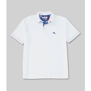 トッミーバハマ メンズ シャツ トップス IslandZone Limited Edition 5 O'Clock Short-Sleeve Polo Shirt|revida