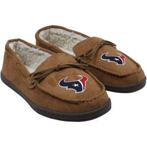 フォーエバーコレクティブルズ メンズ サンダル シューズ Houston Texans Moccasin Slippers revida
