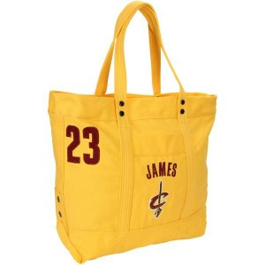 フォーエバーコレクティブルズ レディース ハンドバッグ バッグ LeBron James Cleveland Cavaliers Women's High End Canvas Tote revida