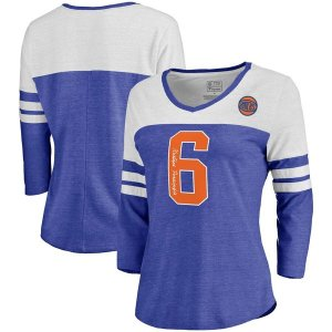 ファナティクス ブランデッド レディース Tシャツ トップス Kristaps Porzingis New York Knicks Fanatics Branded Women's Starstruck Name & Nu