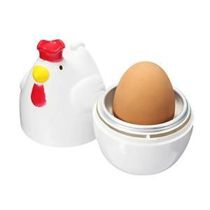 SOROY 超かわいい!コッコ クック レンジでゆで卵 卵蒸し器 電子レンジ用|revolmarket
