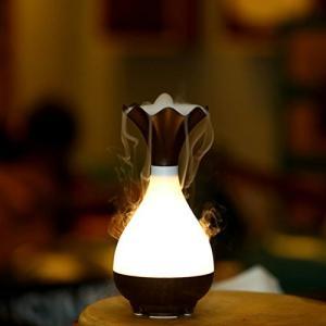 JTIRR 加湿機 乾燥予防 ハイブリッド式 LED ミニ卓上加湿器 ムードランプ 加湿器 超音波式 空気清浄機 花瓶 卓上 オフィス おしゃれ 空焚|revolmarket