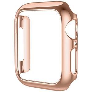 HOCO コンパチブル Apple Watch4 ケース アップルウォッチ4 カバー 40mm メッキ PC素材 軽量超簿 耐衝撃性 脱着簡単 App|revolmarket