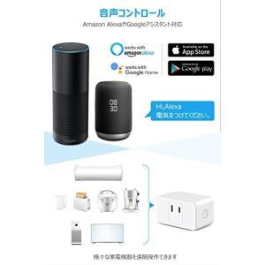 スマートコンセント WiFi スマートプラグ スマート電源 ワイヤレス コンセント 2個 直差しコンセント 100V Echo Alexa対応 Goo|revolmarket