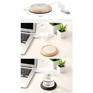USB保温コースター usbコップ保温器 マグカップウォーマー マグカップヒーター カップ マグカップ カップウォーマー usb コースター コーヒー|revolmarket