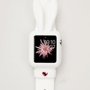 Apple Watch 38 mm シリコン ケース Bling My Thing Honey Bunny Bumper スワロフスキー デザイン カ|revolmarket