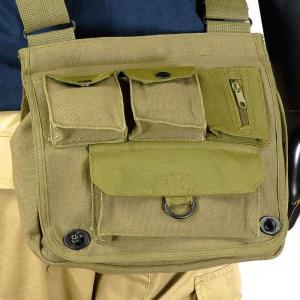 Rothco ショルダーバッグ 2396 ベンチャーサバイバー メッセンジャーバック かばん カジュアルバッグ カバン 鞄 ミリタリー 帆布|revolutjp