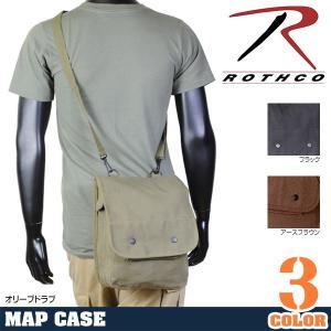 Rothco ショルダーバッグ マップケース アースブラウン オリーブドラブiPad用バッグ iPad収納ケース iPadポーチ ||revolutjp