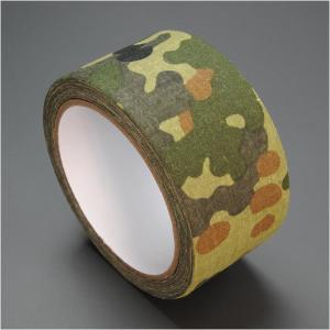 カモフラージュテープ ウッドランドカモ Bタイプ [ 10m ] カモフラテープ 迷彩テープ カモフォーム カモテープ 保護ラップ|revolutjp