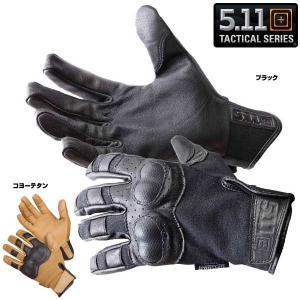 5.11タクティカル ハードナックルグローブ 59354 革手袋 レザーグローブ 皮製 皮手袋 ハンティンググローブ タクティカルグローブ|revolutjp