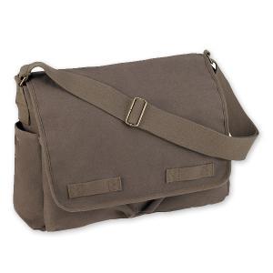 Rothco メッセンジャーバッグ HW クラシック ショルダーバッグ かばん カジュアルバッグ カバン 鞄 ミリタリー 帆布 斜めがけバッグ|revolutjp