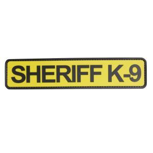 ファイブスターギア SHERIFF K-9 ミリタリーワッペン 45×203mm ベルクロ ミリタリーパッチ アップリケ 5IVE STAR|revolutjp