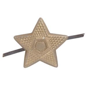 チェコ軍放出品 ピンズ 星形スタッズ ゴールド スター スタッズベルト 革細工 レザークラフト材料 メンズベルト自作 ハンドメイド リベット|revolutjp