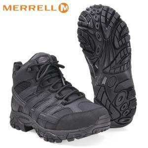 MERRELL メンズ MOAB2 タクティカルブーツ ウォータープルーフ ミッドカット メレル Tactical Boot MEN|revolutjp