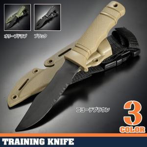 ダミーナイフ  プラスチック製 トレーニングナイフ 模造ナイフ 模造刀 樹脂ナイフ 練習用 CQC CQB ゴム製 ABS樹脂 revolutjp