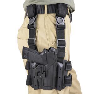 ブラックホーク レッグホルスター セルパ LV3 H&K USP用 右利き用 Blackhawk BHI ドロップレッグホルスター サイホルスター revolutjp