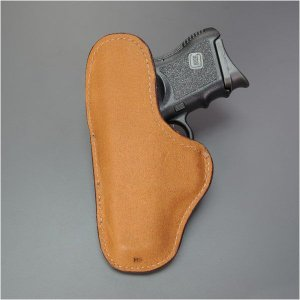 ビアンキ インサイドホルスター Glock26 27 レザー グロック26・27 9mm .40オート Bianchi パンツホルスター revolutjp