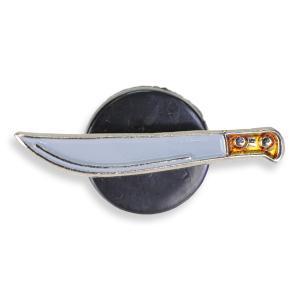 ピンバッジ マチェットナイフ ラペル Machete Knife | ピンズ ミリタリーバッジ ミリタリーバッチ 記章 徽章 襟章 肩章 胸章 袖章|revolutjp