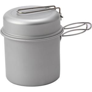 ●アルミクッカーの詳細 メッシュバッグ付き サイズ:内径11cm×深さ10.2cm、容量:約900m...