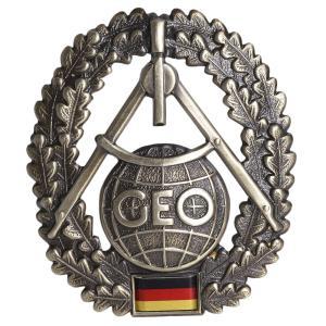 ドイツ軍放出品 記章 ピンバッジ 地理情報部隊 ベレー帽用 ドイツ連邦軍 実物 帽章 エンブレム 部隊章 ミリタリー 軍物 軍払い下げ品 revolutjp