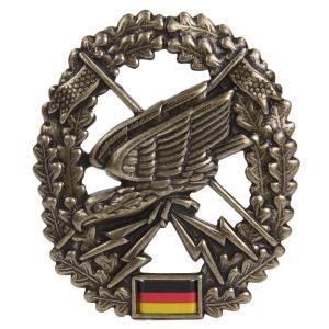ドイツ軍放出品 記章ピンバッジ 特別偵察 ベレー帽用 BW Fernspaher 独軍 部隊 諜報 階級章 徽章 4本ピン Barett revolutjp