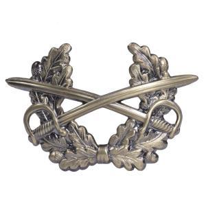 ドイツ軍放出品 ピンバッジ 記章 陸軍 制帽用 [ ブロンズ / 4本 ] ドイツ連邦軍 実物 帽章 エンブレム メタル ミリタリー 軍物 revolutjp