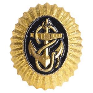 ロシア軍放出品 バッジ 帽章 海軍 実物 ピンバッジ 海軍士官 ミリタリー 軍物 revolutjp