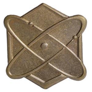チェコ軍放出品 バッジ 記章 宇宙航空 チェコスロバキア 実物 ピンバッジ 襟章 胸章 帽章 ミリタリー 軍物 軍払い下げ品 revolutjp